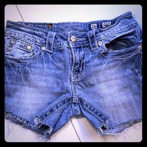 Miss Me Cutoff Shorts size 26
